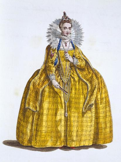 Elizabeth I, Queen of England, (19th century)-Unknown-Giclee Print