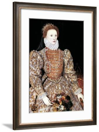 Elizabeth I, Queen of England and Ireland, C1588--Framed Giclee Print
