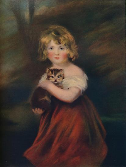 'Elizabeth Jane Hinchcliffe', 1805, (1922)-John James Masquerier-Giclee Print