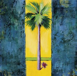 Neon Palm I by Elizabeth Jardine