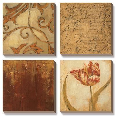 Tulip Manuscript II by Elizabeth Jardine
