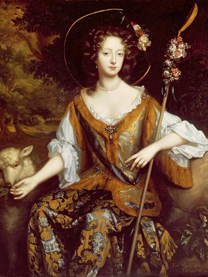 Elizabeth Jones, Countess of Kildare, C.1684-William Wissing-Giclee Print