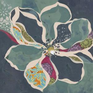 Bohemian Floral 1 by Elizabeth Leonard
