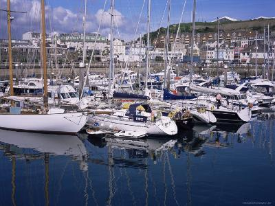 Elizabeth Marina, St. Helier, Jersey, Channel Islands, United Kingdom-David Hunter-Photographic Print