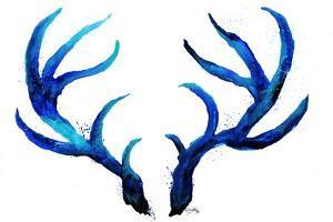Blue Antlers by Elizabeth Medley