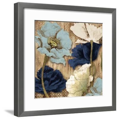 Blue Joyful Poppies II
