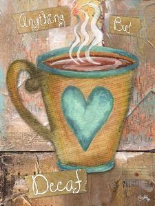 Coffee Collage I by Elizabeth Medley