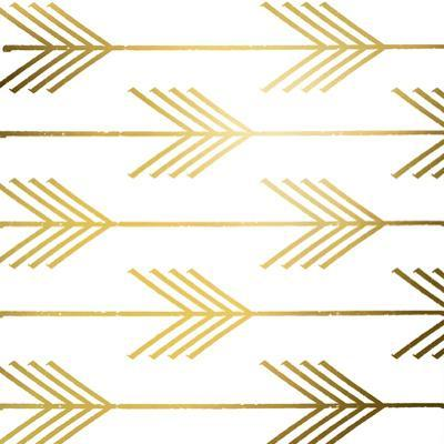 Golden Arrows I (gold foil)
