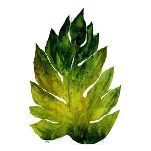 Green Leaves Square I by Elizabeth Medley