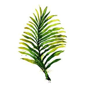 Green Leaves Square II by Elizabeth Medley