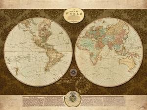 Map of World by Elizabeth Medley