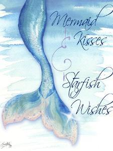 Mermaid Tail I (kisses and wishes) by Elizabeth Medley