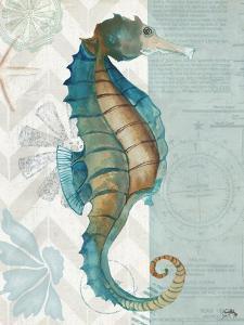 Nautical World II by Elizabeth Medley