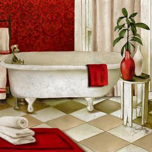 Red Bain I by Elizabeth Medley