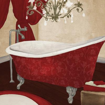 Red Guest Bathroom II