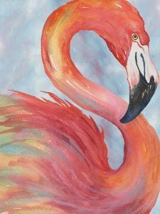 Tropical Flamingo by Elizabeth Medley