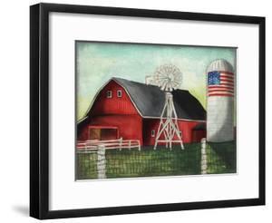 USA Silo by Elizabeth Medley