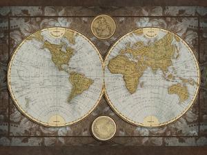 World Map by Elizabeth Medley
