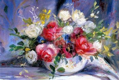 Bowl of Roses by Elizabeth Parsons