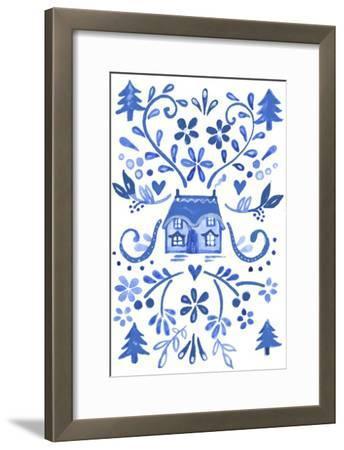 Blue Cottage by Elizabeth Rider