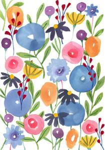 Boho Flowers by Elizabeth Rider
