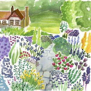 English Country Garden by Elizabeth Rider