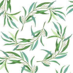Eucalyptus Leaves by Elizabeth Rider