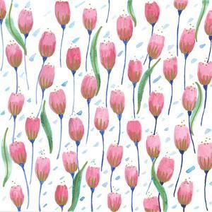 Pink Tulips by Elizabeth Rider