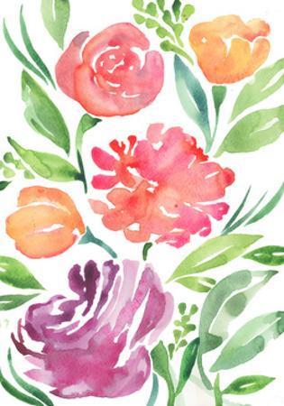Wildflowers by Elizabeth Rider