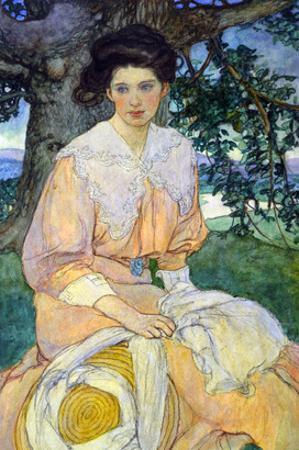 Gisele by Elizabeth Shippen Green