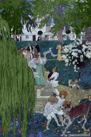 Life Was Made for Love and Cheer by Elizabeth Shippen Green