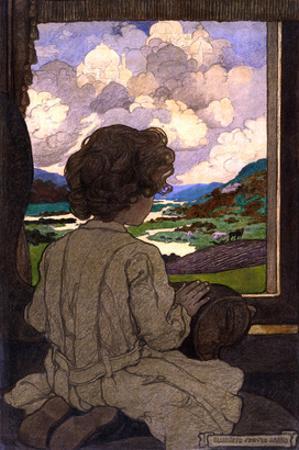 The Journey by Elizabeth Shippen Green