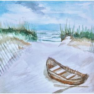 A Trip to the Beach by Elizabeth Tyndall