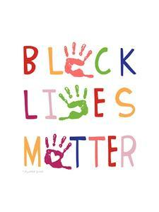 Black Lives Matter by Elizabeth Tyndall