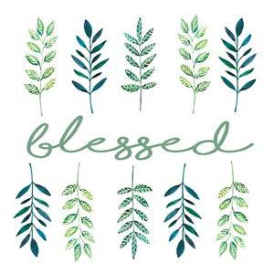 Blessed Leaves by Elizabeth Tyndall