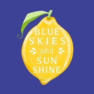 Blue Skies by Elizabeth Tyndall