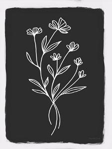Charcoal Botanical II by Elizabeth Tyndall