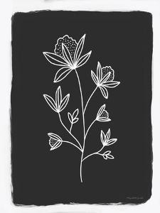 Charcoal Botanical III by Elizabeth Tyndall