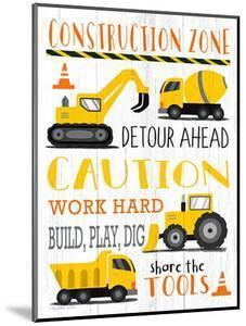 Construction Zone by Elizabeth Tyndall