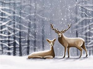 Deer by Elizabeth Tyndall