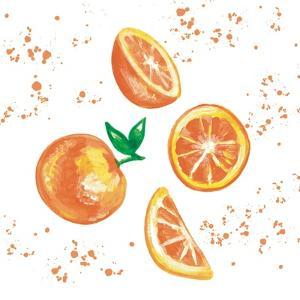 Falling Oranges by Elizabeth Tyndall