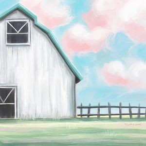 Farmhouse Barn II by Elizabeth Tyndall
