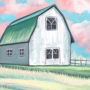Farmhouse Barn by Elizabeth Tyndall