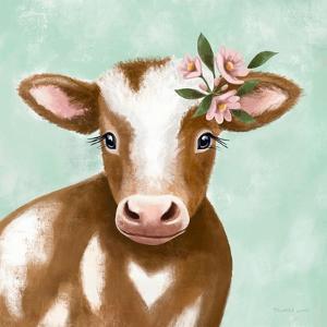 Farmhouse Cow by Elizabeth Tyndall
