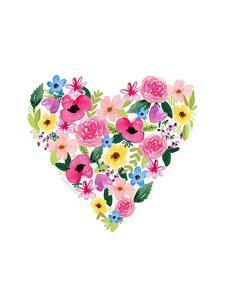 Flower Heart II by Elizabeth Tyndall