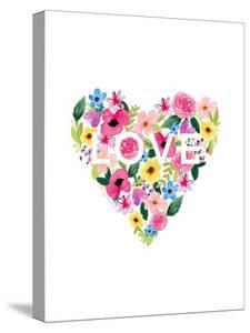 Flower Heart by Elizabeth Tyndall