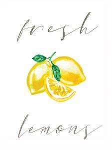 Fresh Lemons by Elizabeth Tyndall