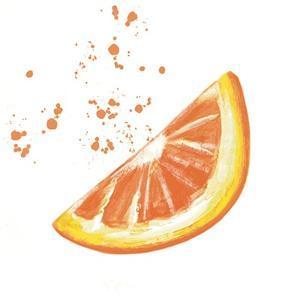 Fresh Squeezed Orange by Elizabeth Tyndall