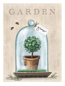 Garden Terrarium by Elizabeth Tyndall