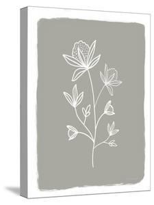 Gray Botanical I by Elizabeth Tyndall